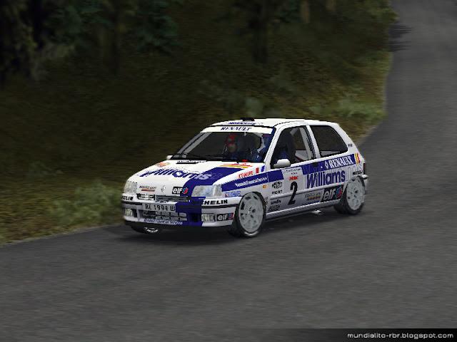 Skin-Renault-Clio-Williams-F1-1994