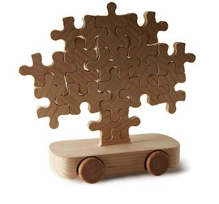 Juguete de madera automovil - wood car