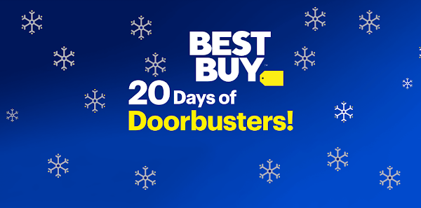 Best Buy announces 20 days of Doorbusters