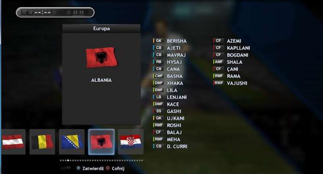 PES 2013 Euro 2016 Full Squad Update for PESEDIT 10.0