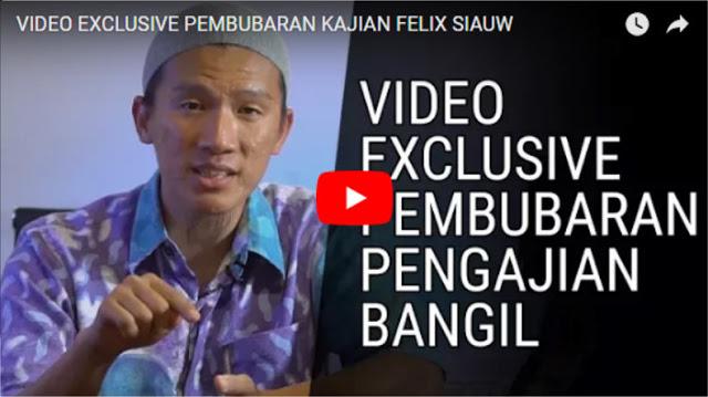 Simak! Ini Video Exclusive Kronologi Lengkap Pembubaran Kajian Felix Siauw