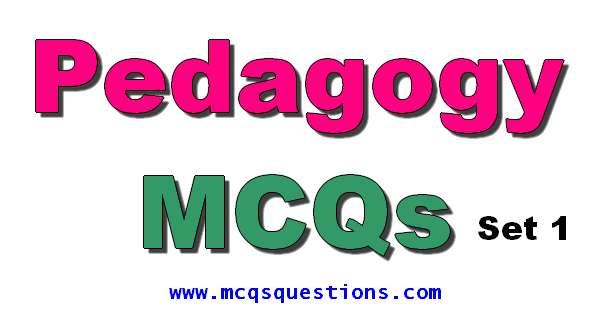 pedagogy mcqs instructional planning mcqs set 1