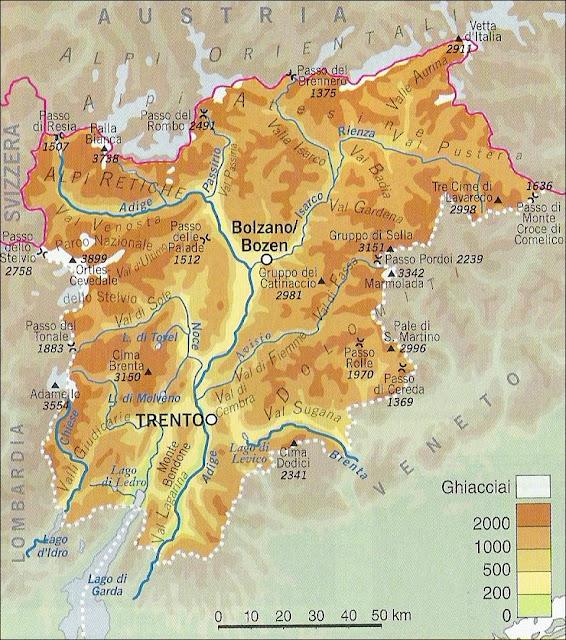 Fiumi Del Trentino Alto Adige Cartina.Chi Viaggia Impara Immagini Dal Mondo Italia Trentino Alto Adige