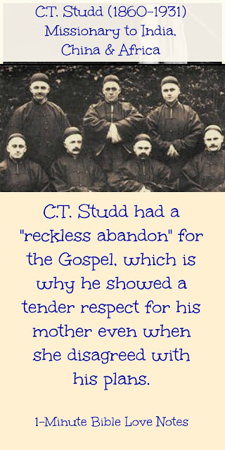 Reckless Abandon, C.T. Studd missionary pineer