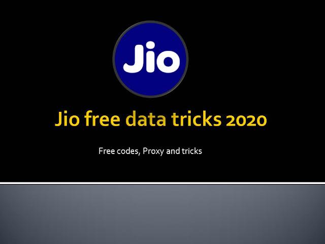Jio free data code 2020