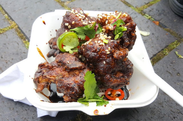 Korean Fried Cauliflower Balls, FFS! Dirty Vegan