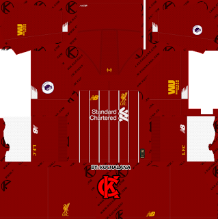Liverpool FC 2019/2020 Kit - Dream League Soccer Kits