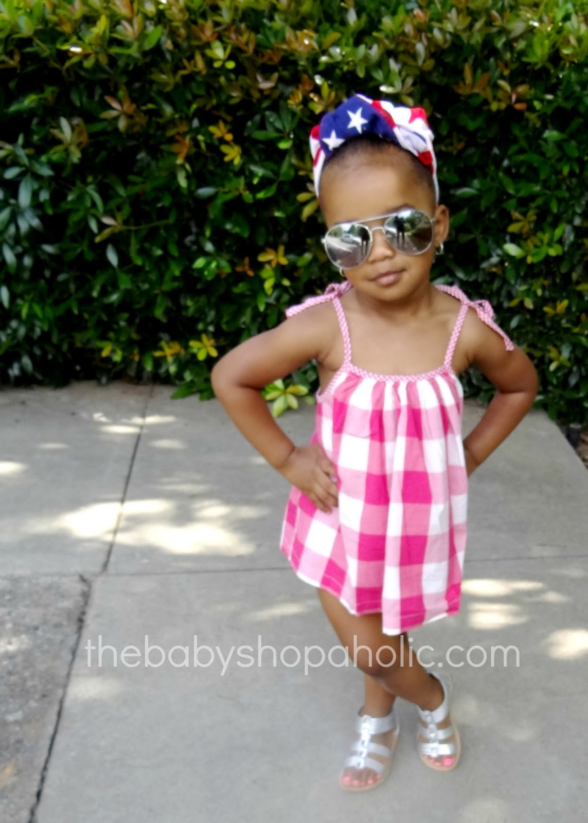 Fabkid 4th Of July Baby Shopaholic