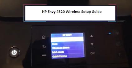 123 HP Envy 4520 Wireless Setup