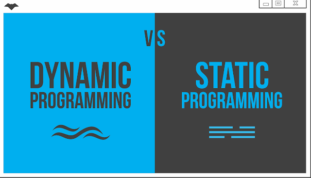 Dynamic Vs. Static Programming | Advanced Batch | By Kvc