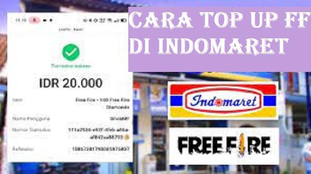 Cara Top Up FF Di Indomaret