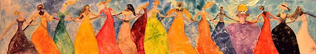 danza, mujer, terapia