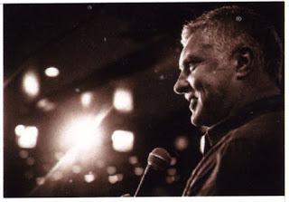Comedian, Darren Sanders.