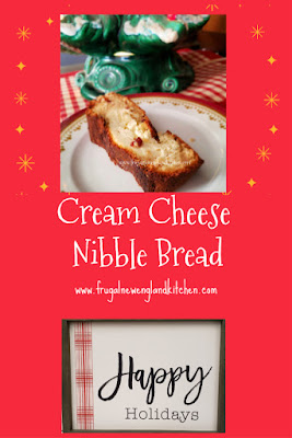 Cream  Cheese Nibble Bread Recipe