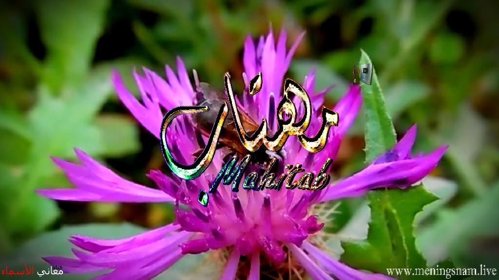 معنى اسم مهتاب وصفات حاملة هذا الاسم Mahitab