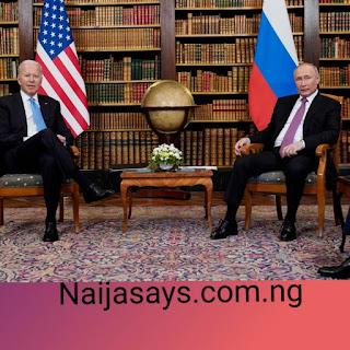 Рutin  аnd  Jоe  Biden  meet  in  Genevа