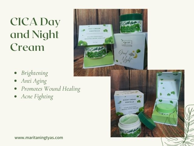 cica day and night cream npure