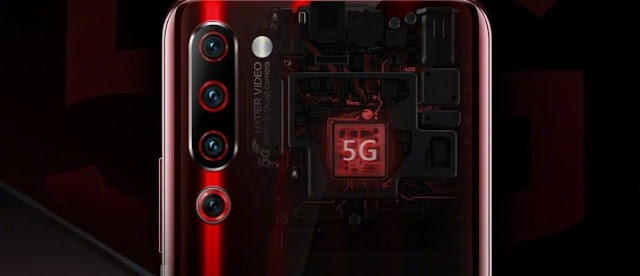 Lenovo Z6 Pro 5G Edition, announced in mwc 2019, in Shanghai