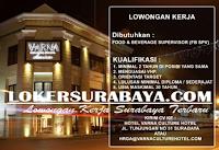 Tantangan Kerja Surabaya di Hotel Varna Culture Terbaru Oktober 2019