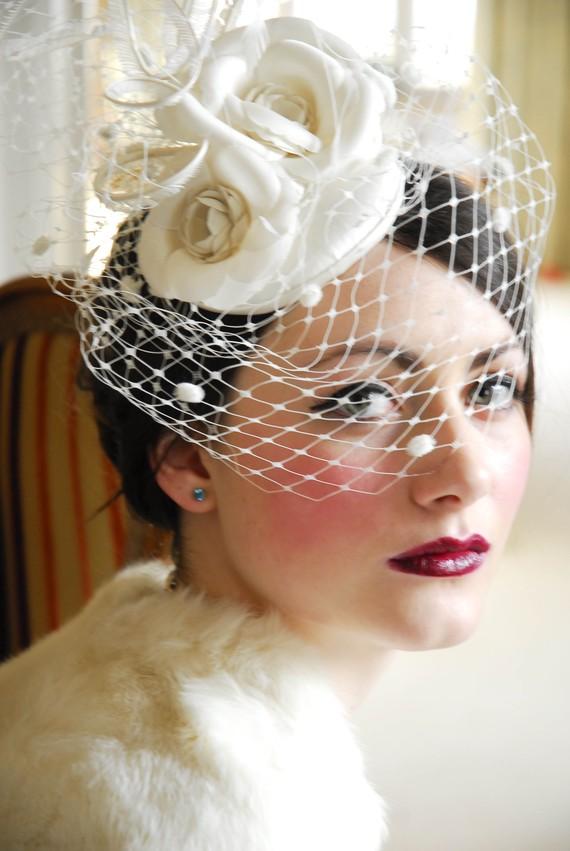 Vintage Wedding Hat 88