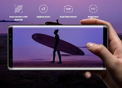 Cara Screenshot Samsung Galaxy Note 8 Terbaru 2017
