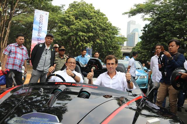 Pebalap Nasional Sambut Baik Event E-Prix di Jakarta Tahun 2020