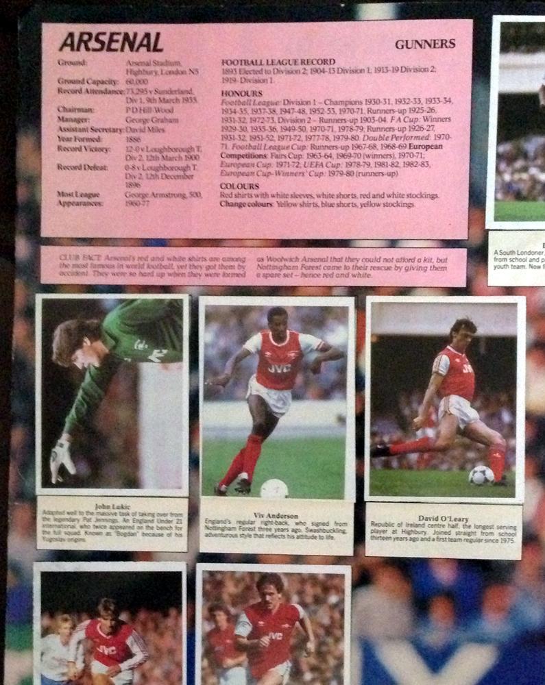 3e8847ecd Stick With Soccer - Daily Mirror Sticker Album 1986-87 ~ The ...