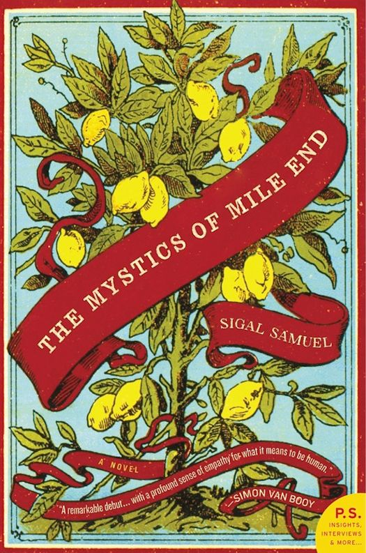2015 Debut Author Challenge Update: The Mystics of Mile End by Sigal Samuel