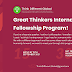 Great Thinkers International Fellowship 2021 Program by Think Different Global | Apply Now!