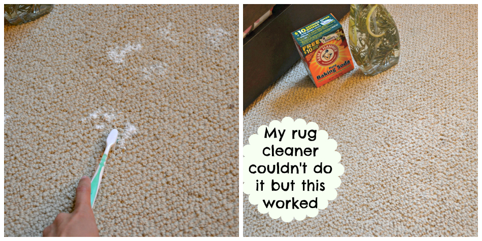Heinzvinegar Cleaning Rug Stains With Vinegar And Baking Soda