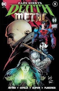 Se agrega el #05 de la serie principal del evento de Dark Nights: Death Metal gracias a la alianza entre 9 Reinos y el Rincón Geek.