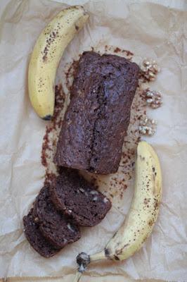 Chlebek bananowy czekoladowy