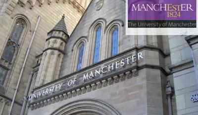 منح جامعة مانشستر الدولية للرياضيات في المملكة المتحدة