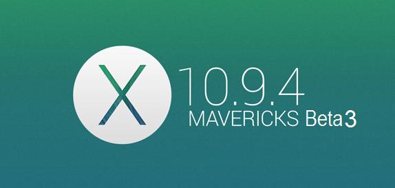 Download OS X Mavericks 10 9 4 Beta 3 (13E19)  DMG File via
