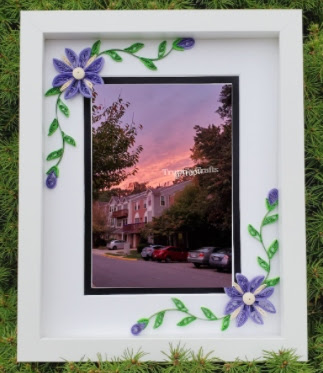 Paper Quilling Photo Frame