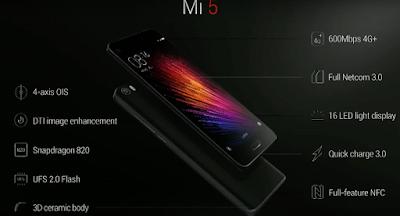 Đánh giá điện thoại Xiaomi Mi5 64GB