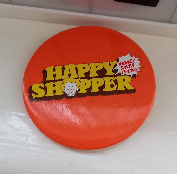 A Happy Shopper badge