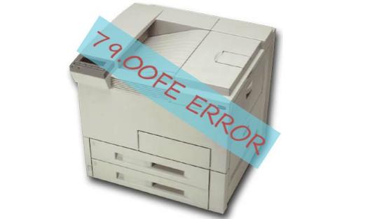 79.00 Fe Printer Error