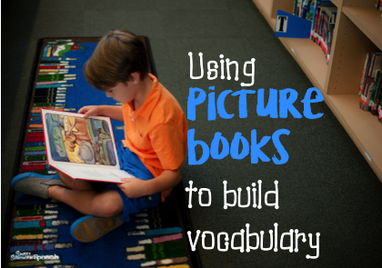 Strategies for using picture books to build vocabulary
