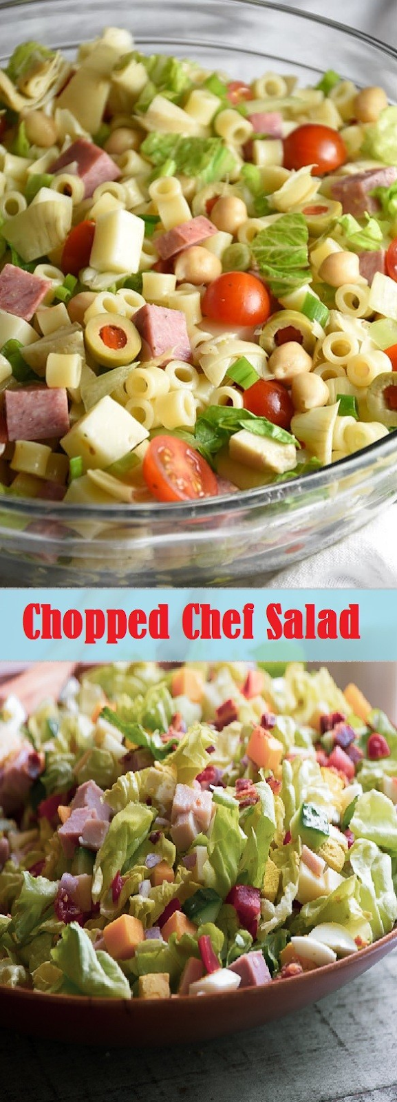 Chopped Chef Salad