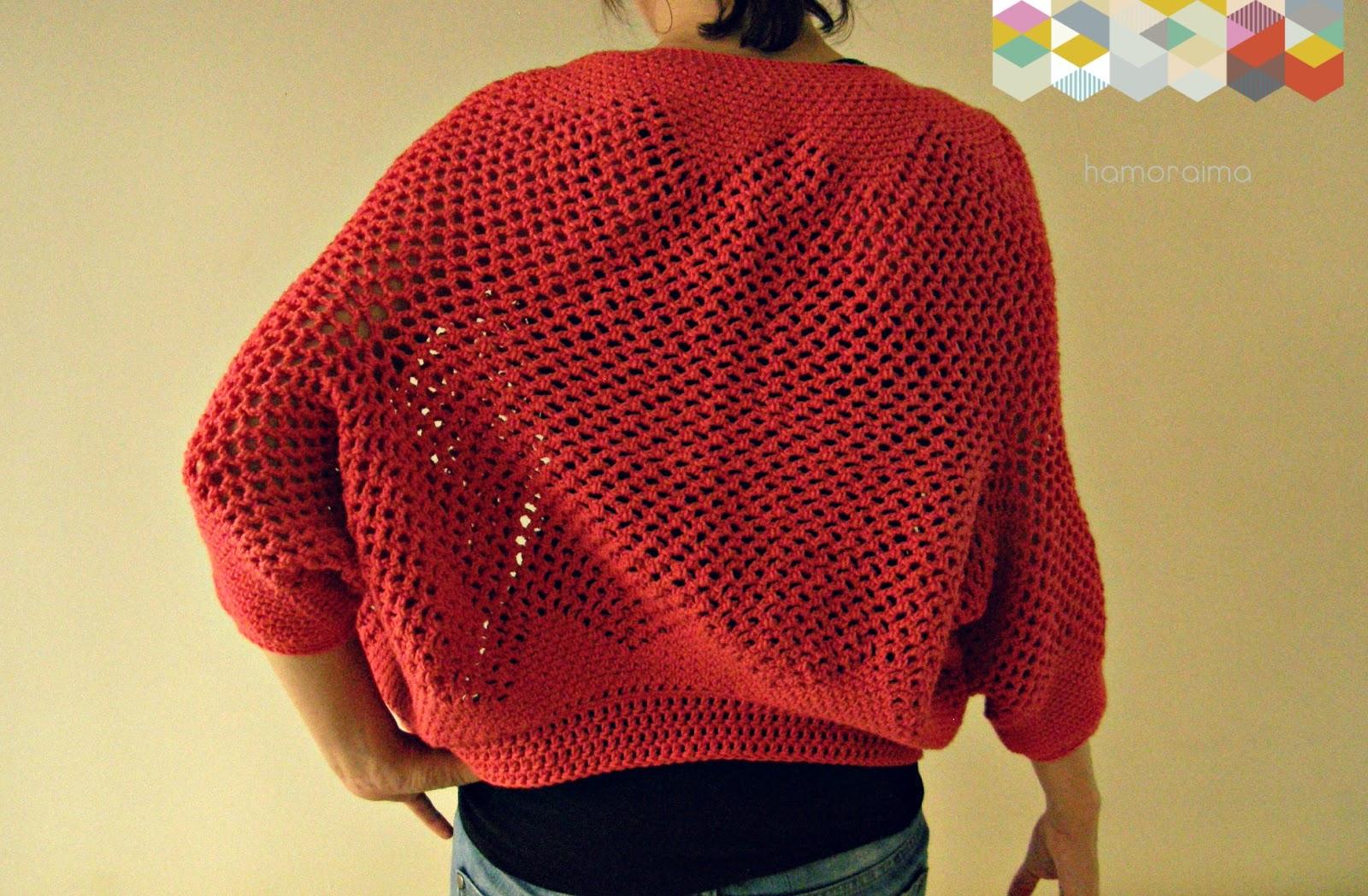 Patrón chaqueta crochet - hamoraima