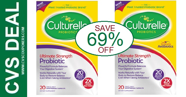 Culturelle Probiotic CVS Deals