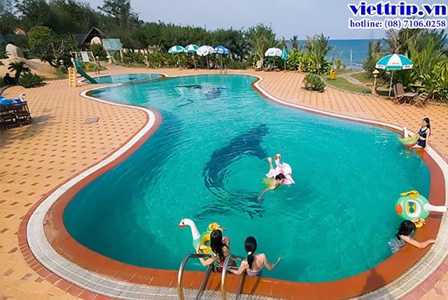 Hồ bơi - Thùy Dương resort Vũng Tàu