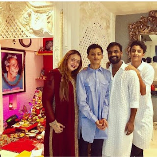 Remo D'Souza son and family