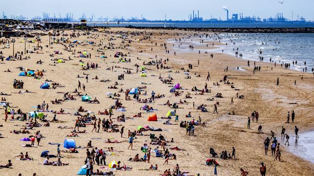 موجة حارة قادمة لهولندا و درجات الحرارة قد تصل إلى 33 درجة مئوية