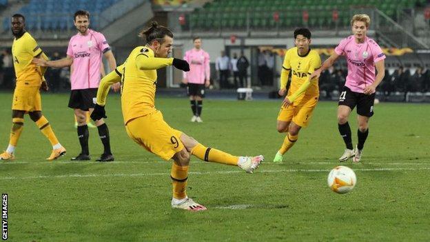 LASK Linz 3 - 3 Tottenham Matchday 5 Europa highlight