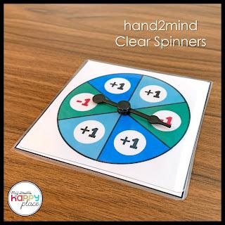 ETA hand2mind Clear Spinner