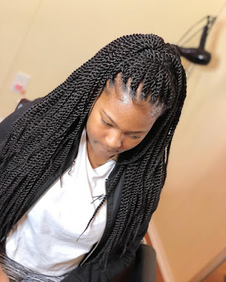 braided Ghana Braids Styles: Most Elegant Braided Hairstyles for ladies – 20 Pictures