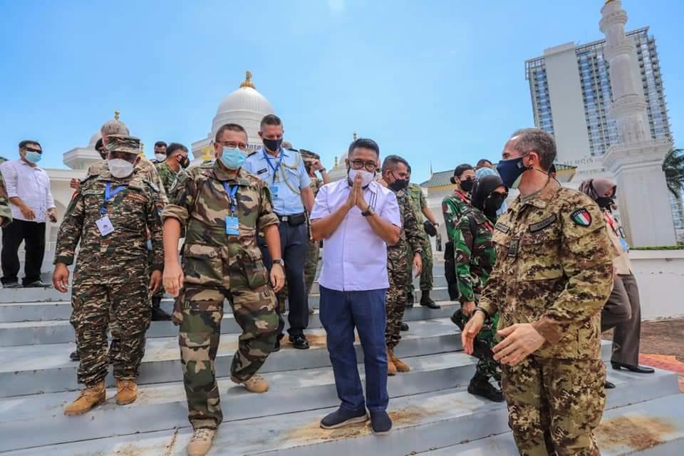 Atase Pertahanan dari 21 Perwakilan Negara Sahabat Berkunjung ke Museum Batam Raja Ali Haji