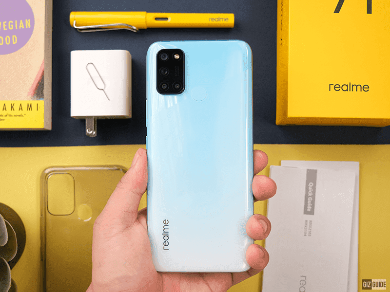 realme 7i PHP 1K early bird discount announced